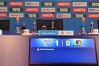 VOETBAL: HEERENVEEN: Abe Lenstra Stadion 29-10-2015, SC Heerenveen, SC Heerenveen - Helmond Sport, uitslag 1-0, Henk Veerman scoorde en kreeg aan het einde van de wedstrijd een rode kaart, geen persconferentie, ©foto Martin de Jong