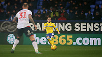 Leeds United's Ezgjan Alioski<br /> <br /> Photographer Stephen White/CameraSport<br /> <br /> The EFL Sky Bet Championship - Bolton Wanderers v Leeds United - Saturday 15th December 2018 - University of Bolton Stadium - Bolton<br /> <br /> World Copyright &copy; 2018 CameraSport. All rights reserved. 43 Linden Ave. Countesthorpe. Leicester. England. LE8 5PG - Tel: +44 (0) 116 277 4147 - admin@camerasport.com - www.camerasport.com