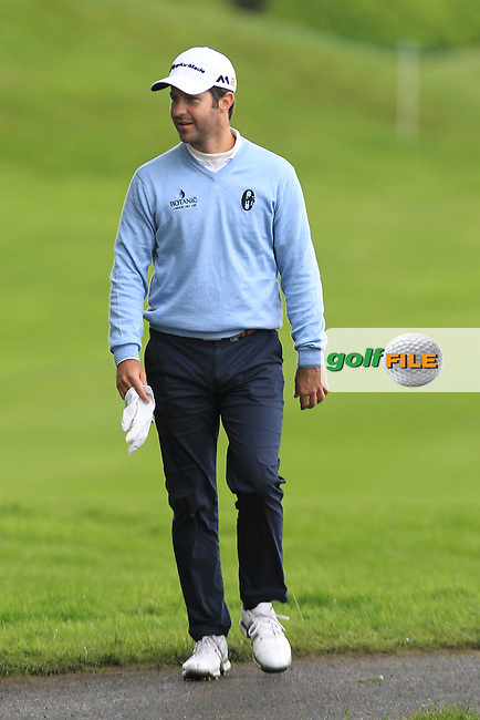 Jorge Campillo (ESP) on the 18th fairway during Sunday's Round 4 of the 2016 Dubai Duty Free Irish Open Hosted by The Rory Foundation which is played at the K Club Golf Resort, Straffan, Co. Kildare, Ireland. 22/05/2016. Picture Golffile | TJ Caffrey.<br /> <br /> All photo usage must display a mandatory copyright credit as: &copy; Golffile | TJ Caffrey.