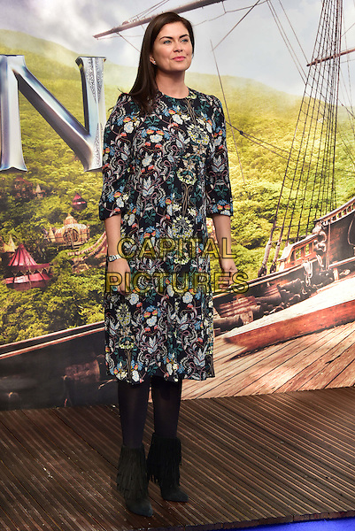 LONDON, ENGLAND - SEPTEMBER 20: Amanda Lamb attends the World Premiere of 'Pan' at Odeon Leicester Square on September 20, 2015 in London, England.<br /> CAP/JOR<br /> &copy;JOR/Capital Pictures