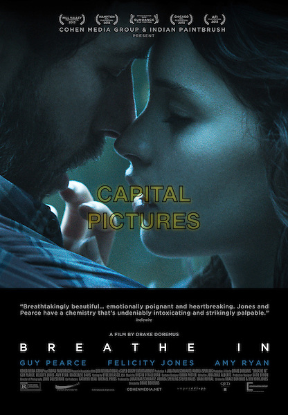 POSTER ART<br /> in Breathe In (2013) <br /> *Filmstill - Editorial Use Only*<br /> CAP/FB<br /> Image supplied by Capital Pictures