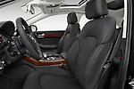 Front seat view of 2015 Audi A8 3.0T LWB quattro tiptronic 4 Door Sedan front seat car photos