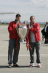 260505 Liverpool return with UCL trophy