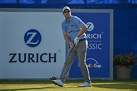 David Hearn (CAN) watches his tee shot on 1 during Round 3 of the Zurich Classic of New Orl, TPC Louisiana, Avondale, Louisiana, USA. 4/28/2018.<br /> Picture: Golffile | Ken Murray<br /> <br /> <br /> All photo usage must carry mandatory copyright credit (&copy; Golffile | Ken Murray)