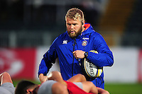 Mark Lilley of Bath Rugby looks on during the pre-match warm-up. Aviva A-League match, between Bath United and Bristol United on September 19, 2016 at the Recreation Ground in Bath, England. Photo by: Patrick Khachfe / Onside Images