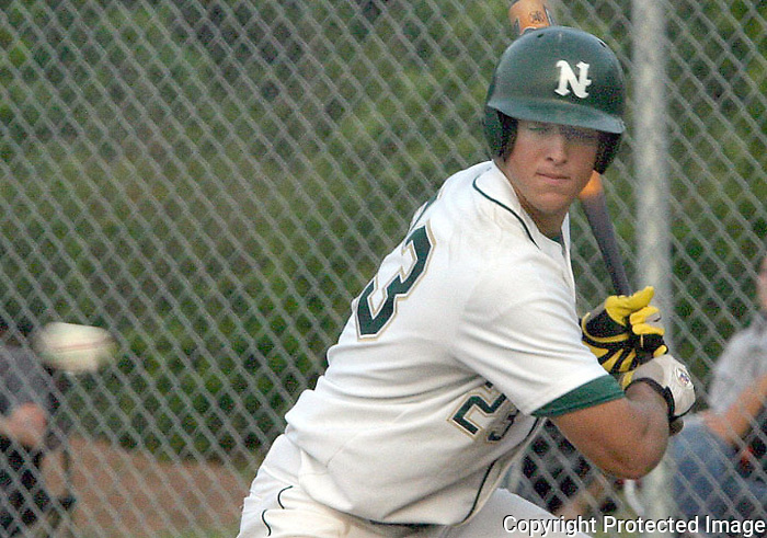 05/11/05......Gary Wilcox/staff.....Nease High School Baseball player Tim Tebow (23) at the Champinship game at Nease  High School last May. Nease won 6 to 1.