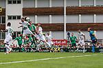 07.07.2019, Parkstadion, Zell am Ziller, AUT, TL Werder Bremen Zell am Ziller / Zillertal Tag 03 - FSP Blitzturnier<br /> <br /> im Bild<br /> Tor 1:0, Yuya Osako (Werder Bremen #08) köpft ein zum 1:0, <br /> <br /> im ersten Spiel des Blitzturniers SV Werder Bremen vs WSG Swarowski Tirol, <br /> <br /> Foto © nordphoto / Ewert