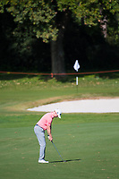 Richard Mcevoy (ENG) in action on the 4th hole during the first round of the 76 Open D'Italia, Olgiata Golf Club, Rome, Rome, Italy. 10/10/19.<br /> Picture Stefano Di Maria / Golffile.ie<br /> <br /> All photo usage must carry mandatory copyright credit (© Golffile | Stefano Di Maria)
