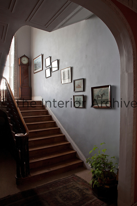 The staircase was added in the late 18th century