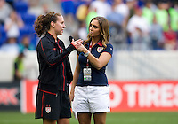 Lauren Cheney, ESPN. The USWNT defeated Mexico, 1-0, during the game at Red Bull Arena in Harrison, NJ.