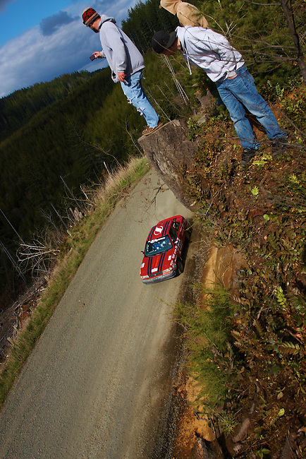 Saturday at The 2011 Olympus Rally on the beautiful Olympic Peninsula in Washington State.