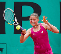 Dinara Safina (RUS) (9) against Kimiko Date Krumm (JPN) in the first round of the women's singles. Kimiko Date Krumm beat Dinara Safina 3-6 6-4 7-5..Tennis - French Open - Day 3 - Tue 25 May 2010 - Roland Garros - Paris - France..© FREY - AMN Images, 1st Floor, Barry House, 20-22 Worple Road, London. SW19 4DH - Tel: +44 (0) 208 947 0117 - contact@advantagemedianet.com - www.photoshelter.com/c/amnimages