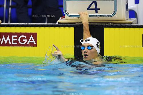 Katinka Hosszu (HUN), <br /> OCTOBER 26, 2016 - Swimming : FINA Swimming World Cup Tokyo <br /> Women's 100m Individual Medley Final <br /> at Tatsumi International Swimming Pool, Tokyo, Japan. <br /> (Photo by AFLO SPORT)