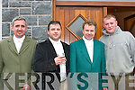 HUNT: At the Kerry Farmers Hunt Club Event in Cordal on Sunday were l-r: Billy Fleming, Jerry Foley, Pat Enright and Fred O'Connor.   Copyright Kerry's Eye 2008