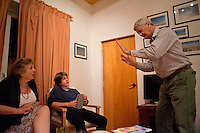 Sharades Christmas eve with M&D, Johnny, Lucas, Felix and Annuska in San Jose, 2013.