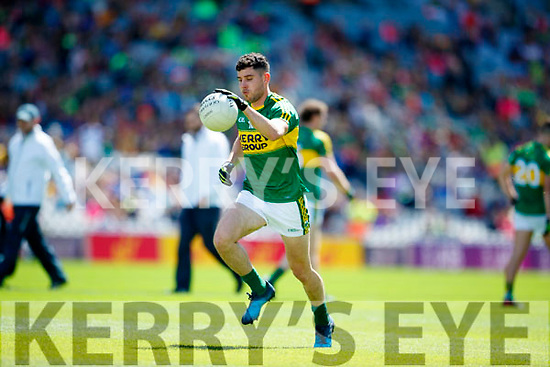Michael Geaney Kerry in action against  Galway in the All Ireland Senior Football Quarter Final at Croke Park on Sunday.