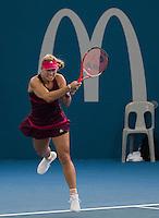 Angelique Kerber (GER)<br /> <br /> Tennis - Brisbane International 2015 - ATP 250 - WTA -  Queensland Tennis Centre - Brisbane - Queensland - Australia  - 5 January 2015. <br /> &copy; Tennis Photo Network
