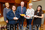 Supporting the Kerry Branch of the Irish Foster Carers Association&rsquo;s coffee morning in the Meadowlands Hotel on Friday morning.<br /> L to r: Margaret Enright, Patsy Dooley, Oliver Mawe, Eileen Commerford and Shea Tarrant (Project Worker Irish Foster Carers Association).