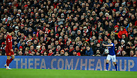 The FA's 'Heads Up' initiative is shown on the advertising boards<br /> <br /> Photographer Alex Dodd/CameraSport<br /> <br /> Emirates FA Cup Third Round - Liverpool v Everton - Sunday 5th January 2020 - Anfield - Liverpool<br />  <br /> World Copyright © 2020 CameraSport. All rights reserved. 43 Linden Ave. Countesthorpe. Leicester. England. LE8 5PG - Tel: +44 (0) 116 277 4147 - admin@camerasport.com - www.camerasport.com