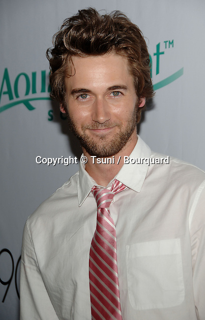 Ryan Eggold - <br /> 90210 Premiere Party in a Private house in Malibu<br /> <br /> headshot<br /> eye contact