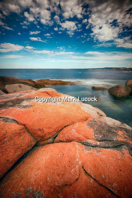 Orange Rocks, The Gardens, Bay of Fires, Tasmania