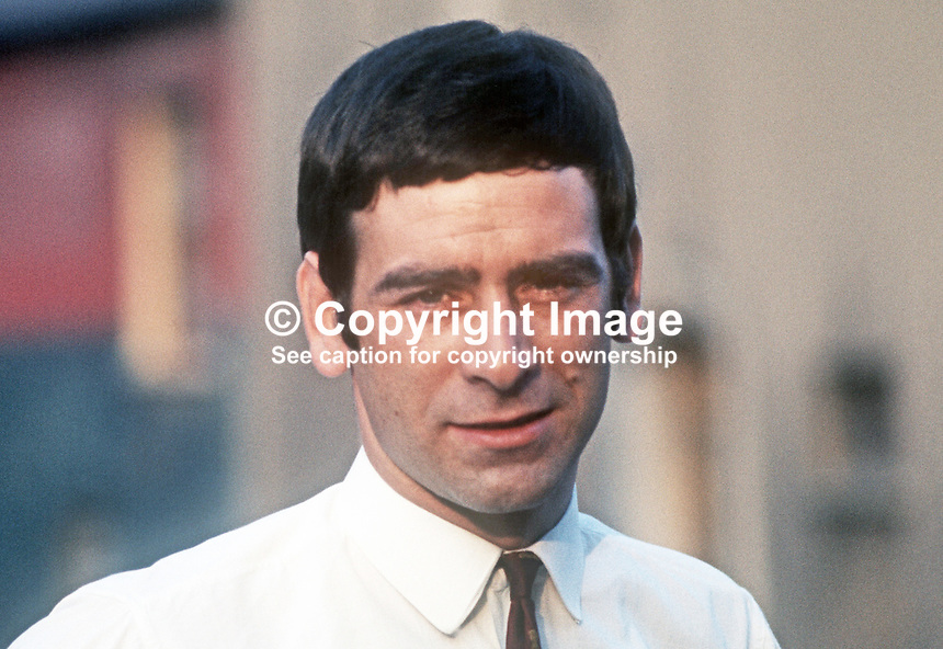 Ritchie McGladdery, candidate, independent, North Down, UK General Election, 18th June 1970, 197006000191a<br /> <br /> Copyright Image from Victor Patterson, 54 Dorchester Park, Belfast, UK, BT9 6RJ<br /> <br /> t1: +44 28 9066 1296<br /> t2: +44 28 9002 2446<br /> m: +44 7802 353836<br /> <br /> e1: victorpatterson@me.com<br /> e2: victorpatterson@gmail.com<br /> <br /> IMPORTANT: My Terms and Conditions of Business are at www.victorpatterson.com