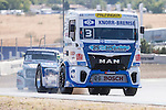 German driver Jochen  Hahn belonging German team Jochen Hahn during the super pole SP1 of the XXX Spain GP Camion of the FIA European Truck Racing Championship 2016 in Madrid. October 01, 2016. (ALTERPHOTOS/Rodrigo Jimenez)