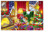 Eberle, Comics, CHRISTMAS SANTA, SNOWMAN, paintings, DTPC54,#X# Weihnachten, Navidad, illustrations, pinturas