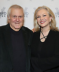 John Kander and Susan Stroman attends the Vineyard Theatre Gala honoring Colman Domingo at the Edison Ballroom on May 06, 2019 in New York City.