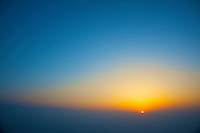 Sunset near the Himalayas at 2300 meters