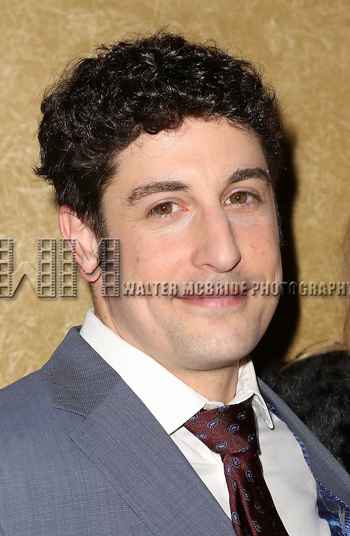 Jason Biggs attends the Broadway Opening Night press reception for 'The Heidi Chronicles'  at The Music Box Theatre on March 19, 2015 in New York City.