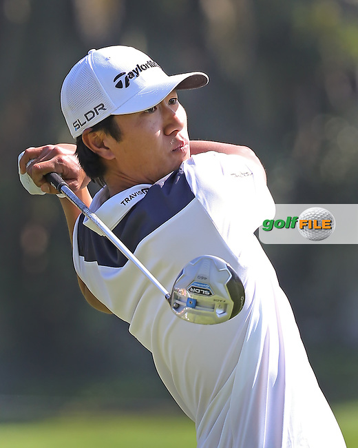 13 FEB 13 Korean American James Hahn during Thurday's First Round of The Northern Trust Open at Riviera Country Club in Pacific Palisades,California. photo credit :  (kenneth e. dennis/kendennisphoto.com)