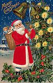 Isabella, CHRISTMAS SANTA, SNOWMAN, WEIHNACHTSMÄNNER, SCHNEEMÄNNER, PAPÁ NOEL, MUÑECOS DE NIEVE, nostalgic, paintings+++++,ITKEK2128030,#X#
