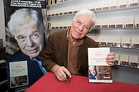 Guy Bedos attends the book signing of his new book ' Je me souviendrai de tout ' - Belgium