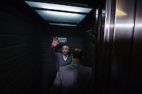 SÃO PAULO,SP, 02.10.2016 - ELEIÇÕES-SÃO PAULO - Presidente da República Michel Temer é visto registrando seu voto na PUC no bairro de Perdizes na região oeste de São Paulo, neste domingo, 02. (Foto: Levi Bianco/Brazil Photo Press)