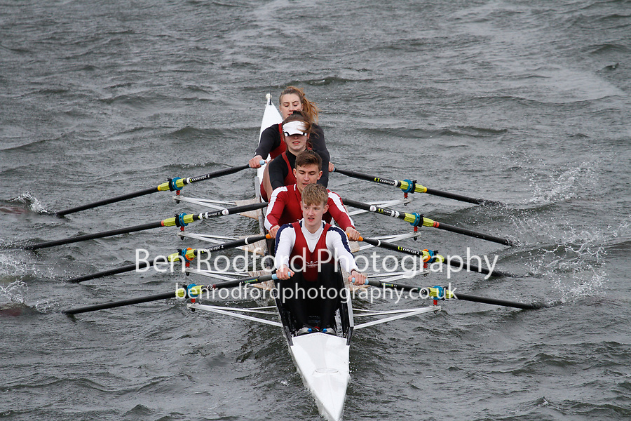 Crew: 227  Rob Roy  Event: Mixed Quads<br /> <br /> Schools' Head of the River 2017<br /> <br /> To purchase this photo, or to see pricing information for Prints and Downloads, click the blue 'Add to Cart' button at the top-right of the page.