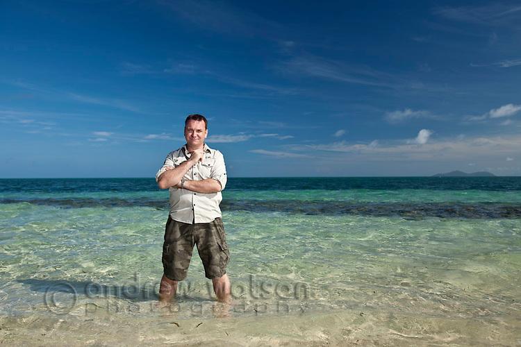 Tourism Australia 7 Wonders Shoot.  Green Island & Middle Cay, 11 Nov, 2010.