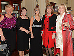 Dina Donegan, Kathleen McDonald, Mary Martin, Theresa Giggins and Anne Moonan pictured at the Ardee Traders Annual Awards dinner at Darver Castle. Photo:Colin Bell/pressphotos.ie