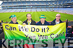 Tom Connor, Ger Graney, Denis Cronin and Sean Barry Castkegregory fans at the All Ireland Junior Club Championship at Croke park on Sunday....