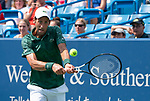 August  18, 2018:  Novak Djokovic (SRB) defeated Marin Cilic (CRO) 6-4, 3-6, 6-3, at the Western & Southern Open being played at Lindner Family Tennis Center in Mason, Ohio. ©Leslie Billman/Tennisclix/CSM