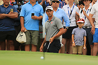Adam Scott (AUS) on the 17th green during Round 4 of the Australian PGA Championship at  RACV Royal Pines Resort, Gold Coast, Queensland, Australia. 22/12/2019.<br /> Picture Thos Caffrey / Golffile.ie<br /> <br /> All photo usage must carry mandatory copyright credit (© Golffile   Thos Caffrey)