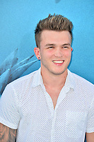 "LOS ANGELES, CA - August 06, 2018: Josh Devine at the US premiere of ""The Meg"" at the TCL Chinese Theatre"