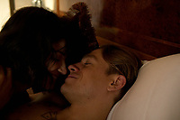 Papillon (2017)<br /> Eve Hewson, Charlie Hunnam<br /> *Filmstill - Editorial Use Only*<br /> CAP/FB<br /> Image supplied by Capital Pictures
