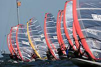 Medemblik - the Netherlands, May 29th 2009. Delta Lloyd Regatta in Medemblik (27/31 May 2009). Day 3. Start.
