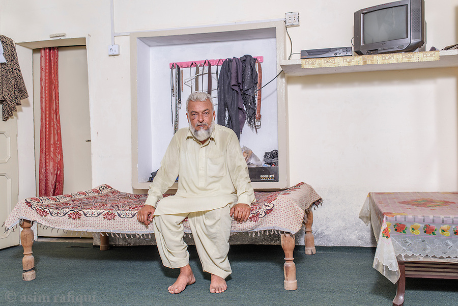 Altaf Sahib, President of the local chapter of the landless peasant movement in Chak 15.