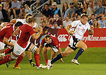 August 13, 2011:  USA's Paul Emerick during the pre World Cup test match between Canada and USA's national teams at Infinity Park, Glendale, Colorado.  Canada defeated USA 27-7.     .. ...