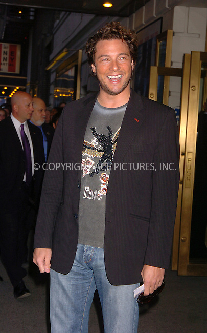 "WWW.ACEPIXS.COM . . . . . ....April 19 2006, New York City....ROCCO DISPIRITO....Arrivals at the opening night of ""Three Days of Rain"" staring Julia Roberts at the Bernard B Jacobs Theatre in midtown Manhattan....Please byline: AJ SOKALNER - ACEPIXS.COM..... . . . . ..Ace Pictures, Inc:  ..(212) 243-8787 or (646) 679 0430..e-mail: picturedesk@acepixs.com..web: http://www.acepixs.com"