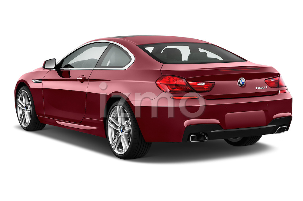 Rear three quarter view of a 2014 BMW 6 Series Coupe