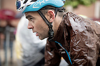 Tony Gallopin (FRA/AG2R-LaMondiale) post-finish after a super soaking stage 5<br /> <br /> Stage 5: Frascati to Terracina (140km)<br /> 102nd Giro d'Italia 2019<br /> <br /> ©kramon
