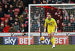 Simon Moore of Sheffield Utd during the Championship match at Bramall Lane Stadium, Sheffield. Picture date 30th December 2017. Picture credit should read: Simon Bellis/Sportimage